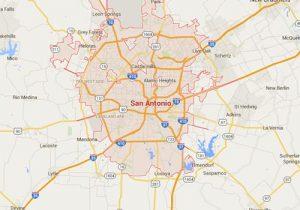 San Antonio Map Of Texas.San Antonio Texas Map Fort Knox Home Security