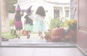 Halloween homepage background