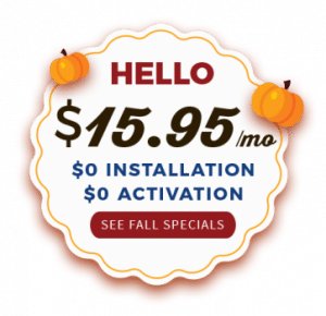 $15.95 Fall Promotions