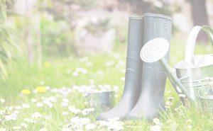 background rain boots
