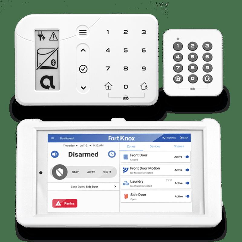 DIY Alarm System Keypads