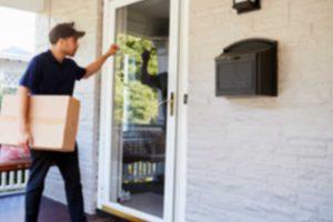 Technician Knocking on Door