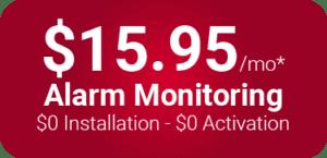 $15.95 Alarm Monitoring